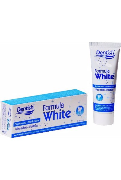 Dentish Formula White Diş Macunu 120 gr - 4 Adet