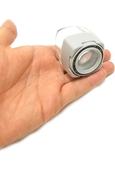 Comex Plastik Mini Cep Büyüteç 8x Odaklamalı