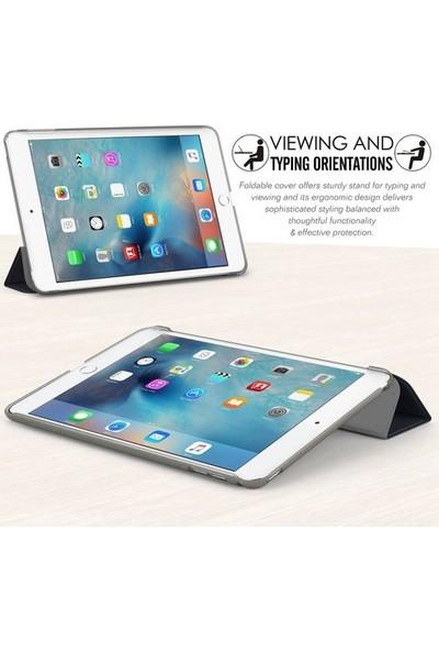 """Fibaks Samsung Galaxy Tab S6 Lite SM-P610 10.4"""" Kılıf + Ekran Koruyucu + Kalem Smart Cover Katlanabilir Standlı Akıllı Rose Gold"""