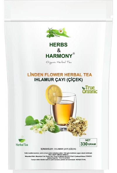 Herbs & Harmony Ihlamur Çayı Çiçek 330 gr
