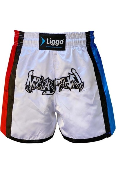 Liggo Muaythai - Kickboks - Boks Şortu Nakışlı
