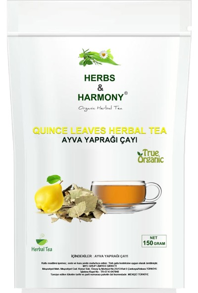 Herbs & Harmony Ayva Yaprağı Çayı 150 gr