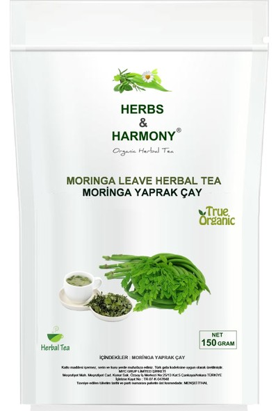 Herbs & Harmony Moringa Yaprak Çay 150 gr
