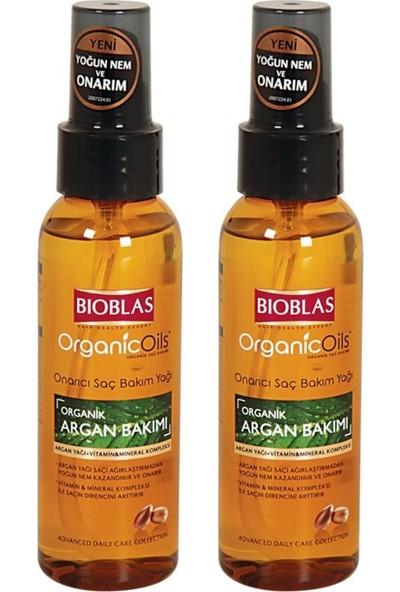 Bioblas Organic Oils Saç Bakım Argan Yağ 100 ml x 2 Adet