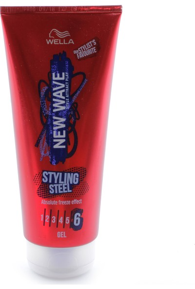 Wella New Wave Jöle Styling Steel 200 ml