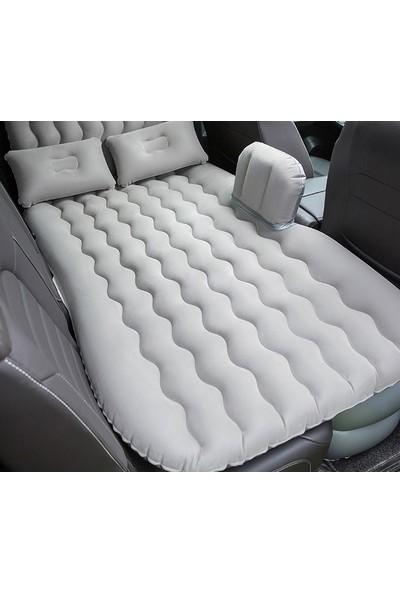 Bermuda Kızılkaya Araç Içi Şişme Yatak Araba Arka Koltuk Yatağı + Şişirme Pompası