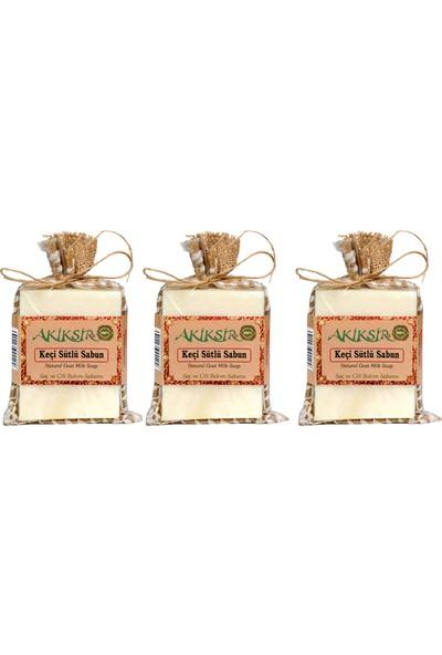 Akiksir Orula Keçi Sütlü Sabun Saç ve Çilt Bakımı Sabunu – 2 Adet – 6 x 110 gr