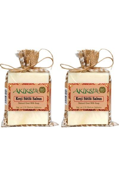 Akiksir Orula Keçi Sütlü Sabun Saç ve Çilt Bakımı Sabunu – 2 Adet – 4 x 110 gr