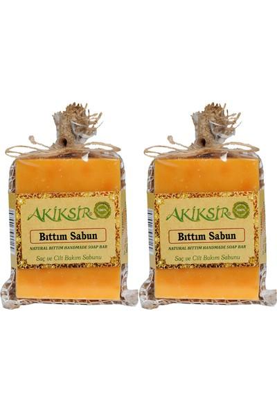 Akiksir Orula Bıttım (Menengiç) Yağlı Bitkisel Sabun 2 Adet – 4 x 110 gr