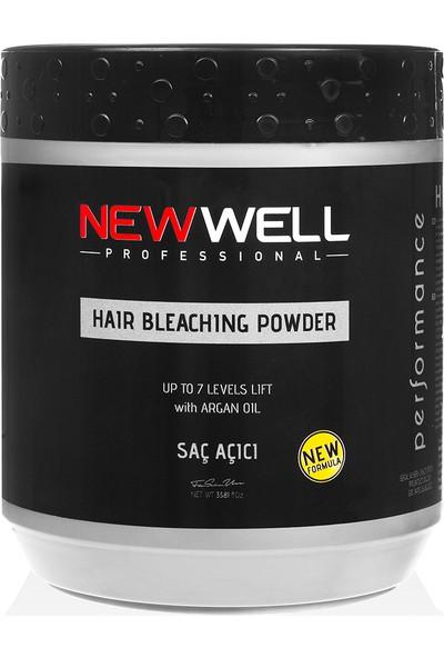 New Well Saç Açıcı Toz - Mavi 1000 ml