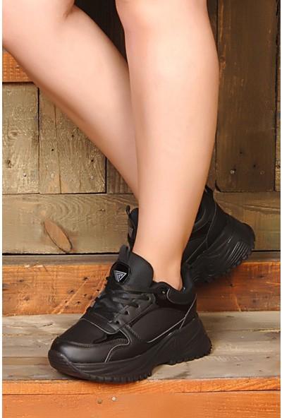 Roy Jones Kadın Sneakers Faylon Taban Günlük Spor Ayakkabı Rj5