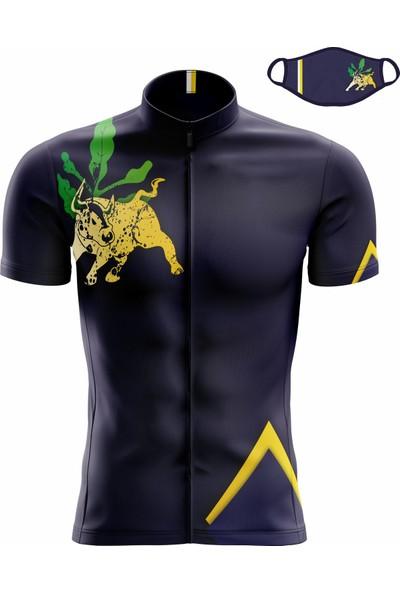 Freysport Bull Bisiklet Forması - Kısa Kollu Lacivert