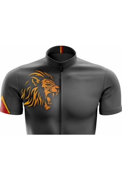 Freysport Predator Bisiklet Forması - Kısa Kollu Antrasit