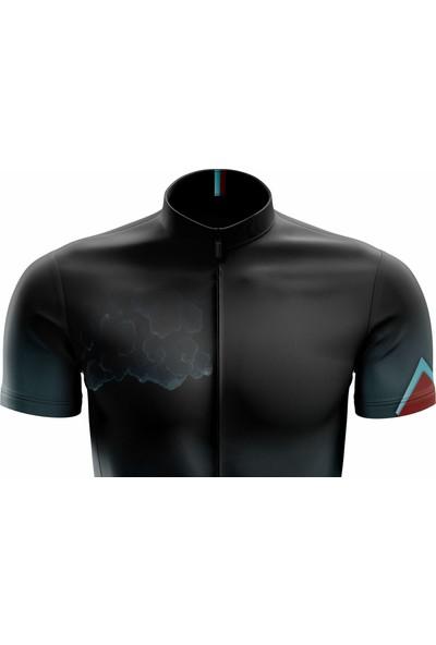 Freysport Storm Bisiklet Forması - Kısa Kollu Siyah