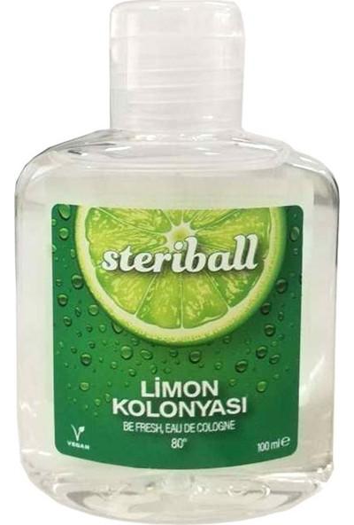 Steriball Limon Kokulu Kolonya 100 ml
