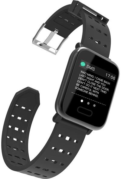 """Yukka Akıllı Saat 1.3 """" Ekran Ruixin Renkli Ekran Akıllı Saat M20 Gerçek Zamanlı Kalp Hızı Kan Basıncı Uyku İzleme Su Geçirmez (Yurt Dışından)"""