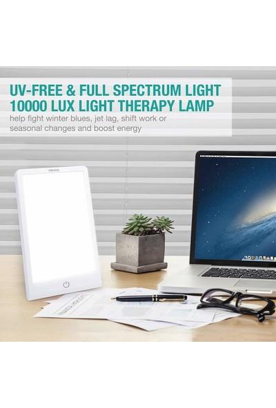 Vekkia Happy Light 10000LUX 3 Renkli Işık Terapisi Lambası (Yurt Dışından)