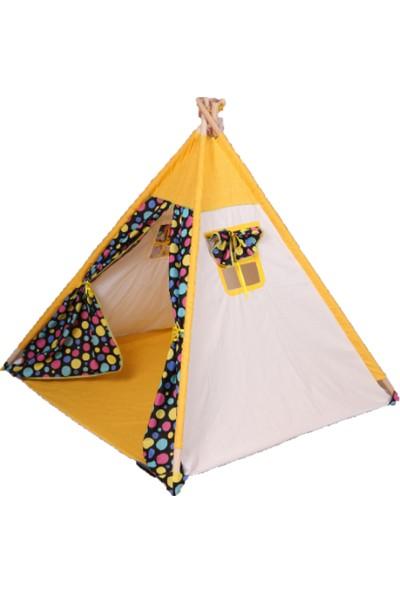 Abbie Ahşap Kızılderili Çocuk Oyun Çadırı