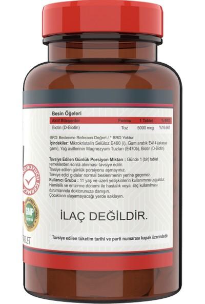 Nevfix Kolajen Hyaluronic Acid 120 Tablet + Biotin 5000 Mcg 120 Tablet