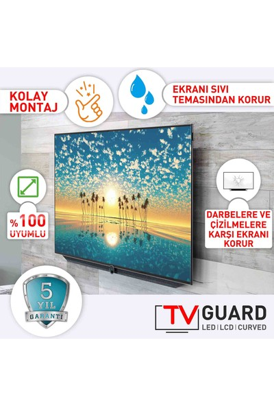 "TV Guard Samsung Ue40F6650 40"" 3 mm Tv Ekran Koruyucu"