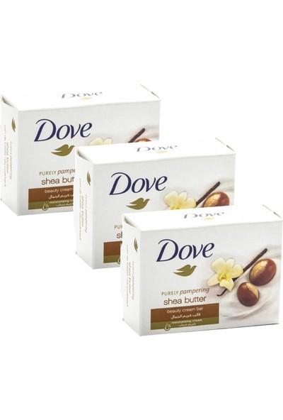 Dove Cream Bar Güzellik Sabunu 100 gr Shea Butter x 3 Adet