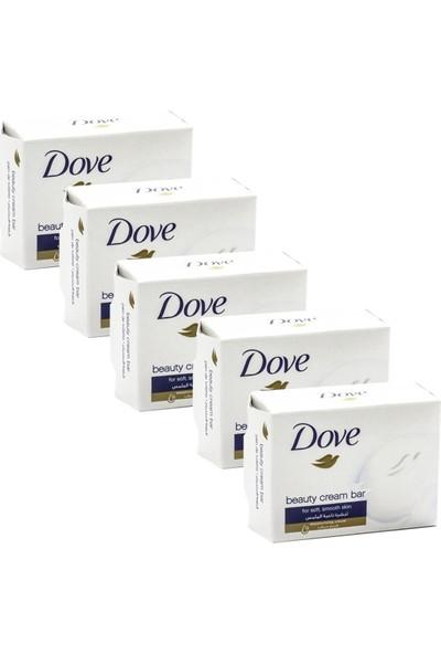 Dove Cream Bar Güzellik Sabunu 100 gr Orginal x 5 Adet