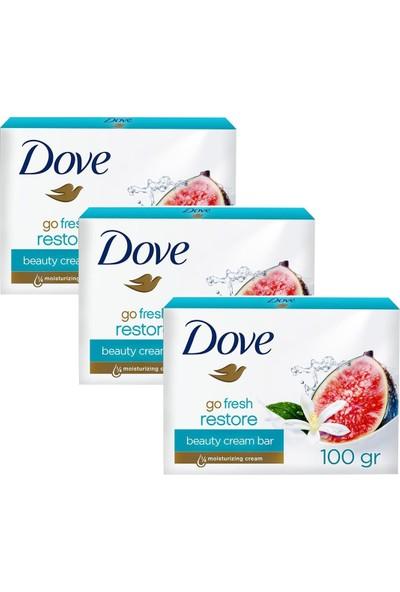 Dove Cream Bar Güzellik Sabunu 100 gr Restore x 3 Adet