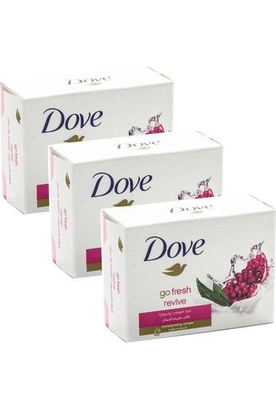 Dove Cream Bar Güzellik Sabunu 100 gr Revive x 3 Adet