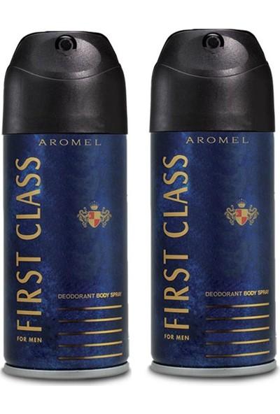 First Class For Men Deodorant 150 ml x 2 Adet