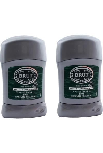 Brut Anti-Perspirant Erkek Stick 50 ml x 2 Adet