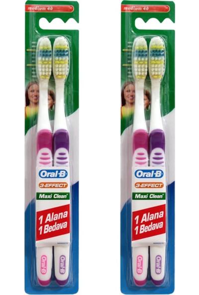 Oral-B Diş Fırçası Maxi Clean Orta 40 1+1 x 2 Adet