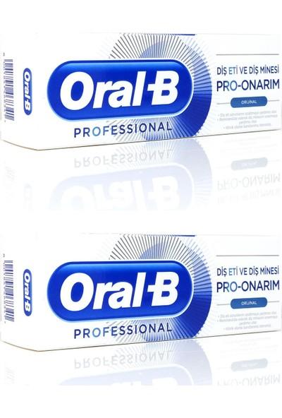 Oral-B Professional Diş Eti ve Diş Minesi Original 50 ml x 2 Adet