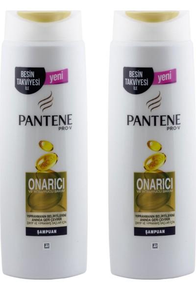 Pantene Şampuan 500 ml Onarıcı Bakım x 2 Adet