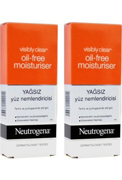 Neutrogena Visibly Clear Yağsız Yüz Ne mlendirici 50 ml 2 Adet