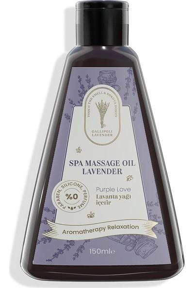 Gallipoli Lavender Lavanta Yağlı Masaj Yağı 150 ml