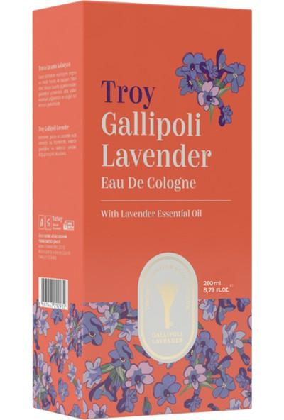 Gallipoli Lavender Lavanta Yağlı Kolonya 80° Cam Şişe 260 ml