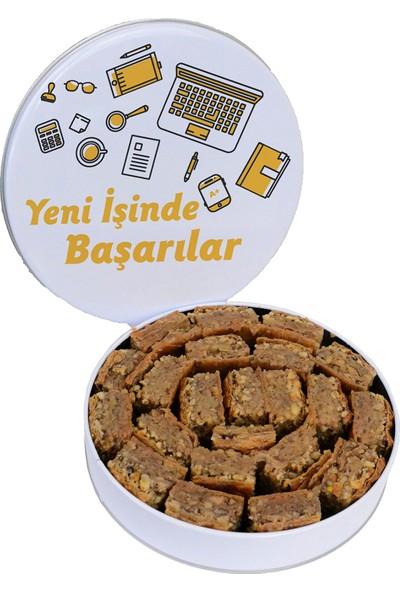 Baklavacı Anteplioğlu Yeni Iş Hediyesi Köy Baklavası Metal Kutulu 1 kg