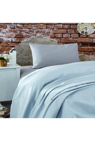 Komfort Home Tek Kişilik Ranforce %100 Pamuk Pike / Açık Gri