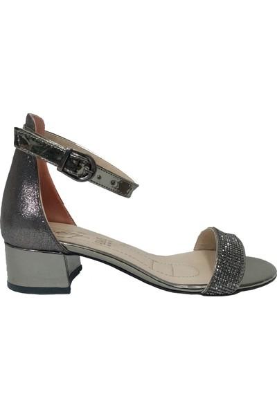 Erbay 004 Taşlı Abiye Kadın Sandalet