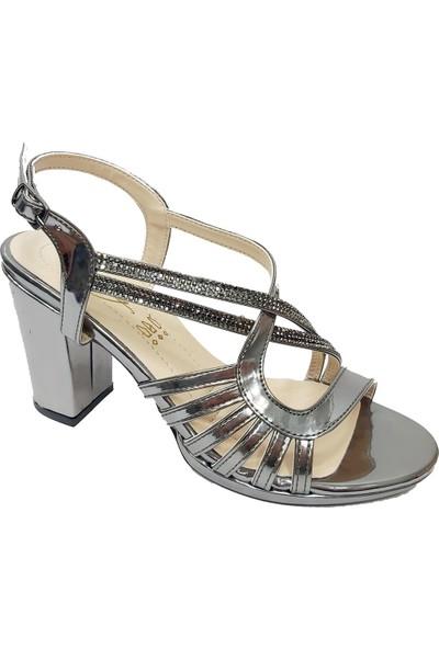 Erbay 51 Taşlı Abiye Kadın Sandalet