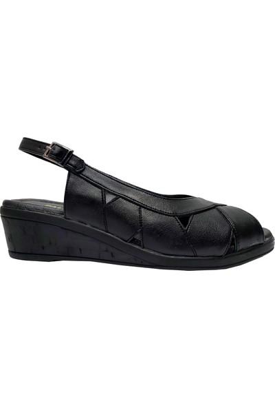 Palmiye 118 Deri Anatomik Kadın Sandalet