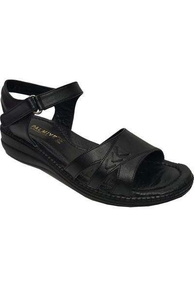 Palmiye 908-20 Deri Anatomik Kadın Sandalet