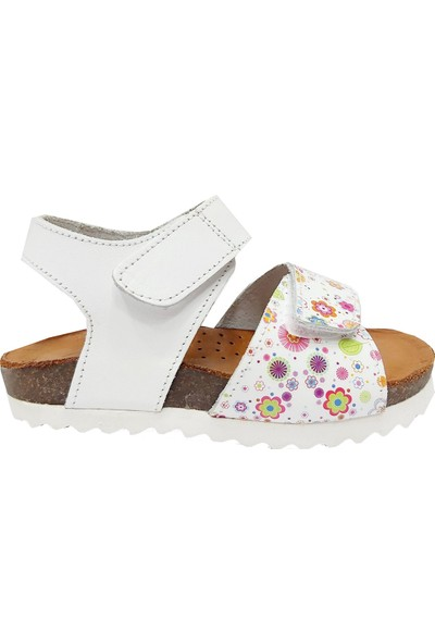 Piarmoni 2123 Deri Bebe Çocuk Sandalet