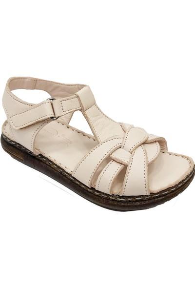 Piarmoni 2179 Deri Patik Çocuk Sandalet