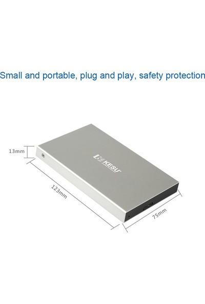 Buyfun Taşınabilir Harici Sabit Disk USB 3.0 HDD Pc Simli (Yurt Dışından)