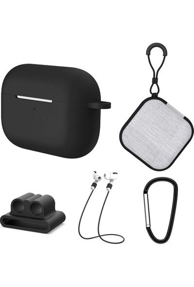 Buyfun 5 In 1 Koruyucu Kılıf Apple Airpods Pro ile Uyumlu Pro