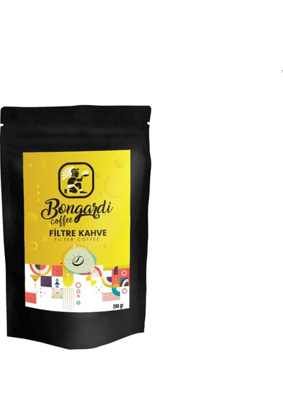 Bongardi Coffee Yöresel Filtre Kahve Demleme Seti Önerileri 3'lü Meksika El Salvador Klasik Filtre Kahve Makinesi Uyumlu !