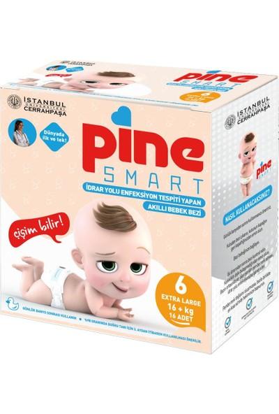 Pine Smart Akıllı Bebek Bezi No 6 Xlarge 16+ kg 16'lı
