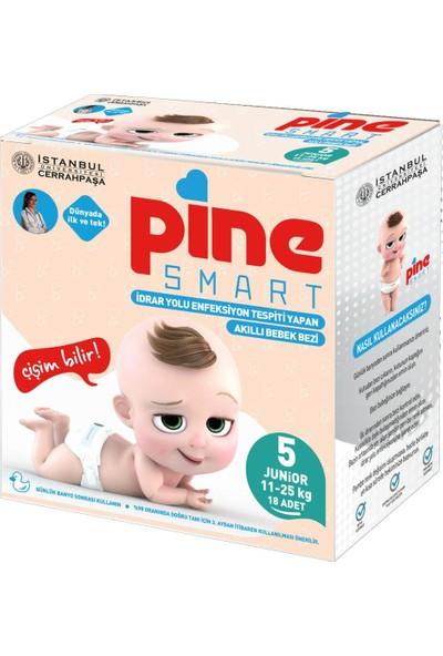 Pine Smart Akıllı Bebek Bezi 5 Junior 11-25 kg 18'li