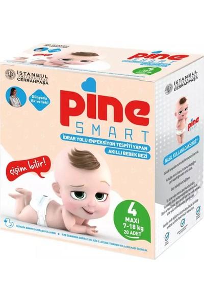 Pine Smart Akıllı Bebek Bezi No 4 Maxi (7-18 kg) 20'li